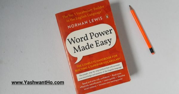 word power made easy Norman Lewis marathi book review